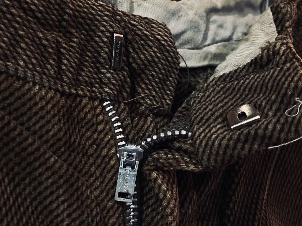 マグネッツ神戸店 8/26(水)秋Vintage入荷! #1 Vintage Corduroy ,Wool Trousers!!!_c0078587_15434074.jpg