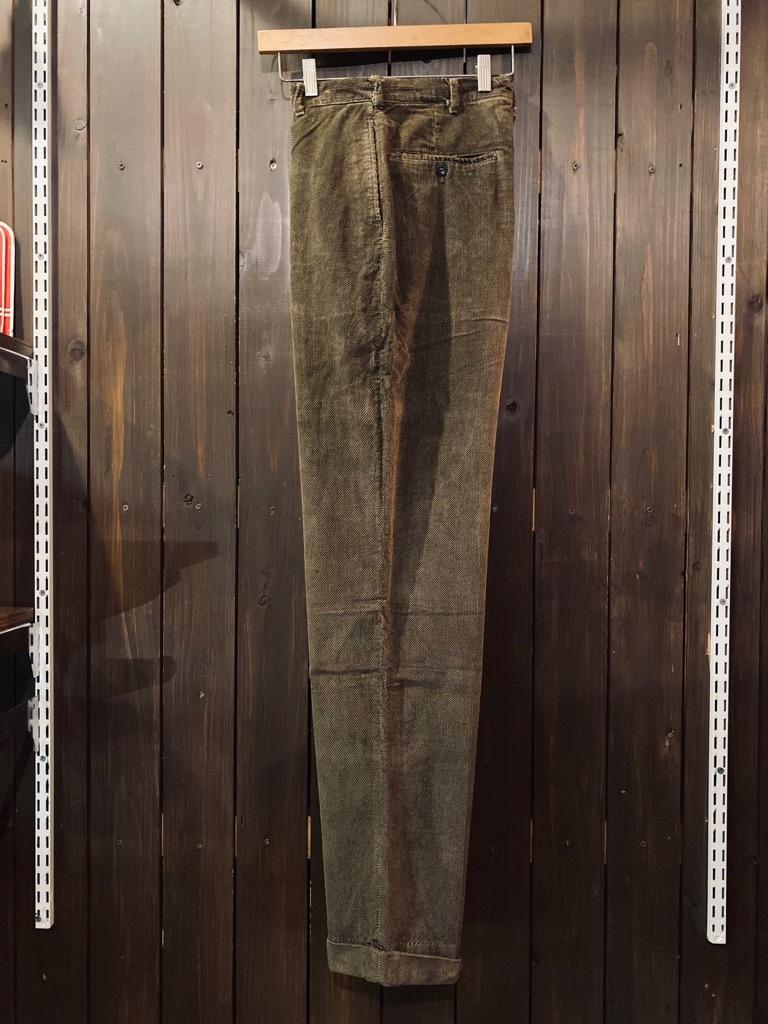マグネッツ神戸店 8/26(水)秋Vintage入荷! #1 Vintage Corduroy ,Wool Trousers!!!_c0078587_15434075.jpg