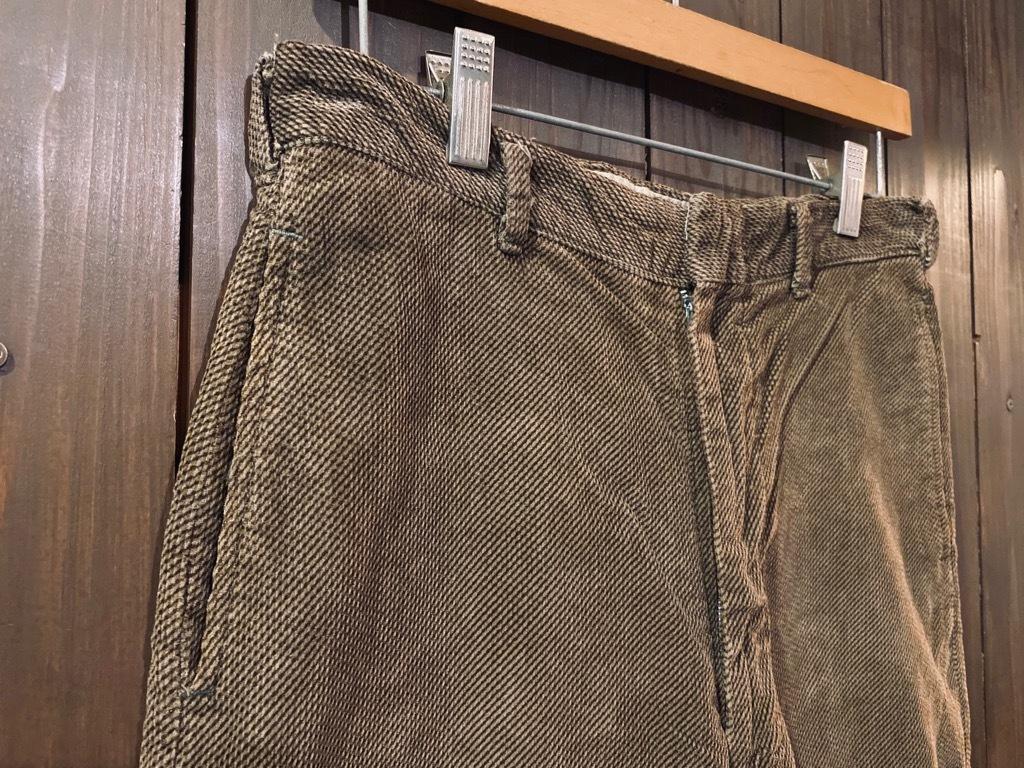 マグネッツ神戸店 8/26(水)秋Vintage入荷! #1 Vintage Corduroy ,Wool Trousers!!!_c0078587_15450924.jpg