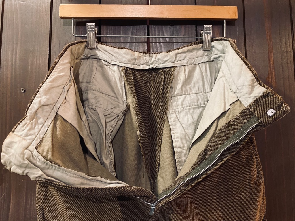 マグネッツ神戸店 8/26(水)秋Vintage入荷! #1 Vintage Corduroy ,Wool Trousers!!!_c0078587_15450989.jpg