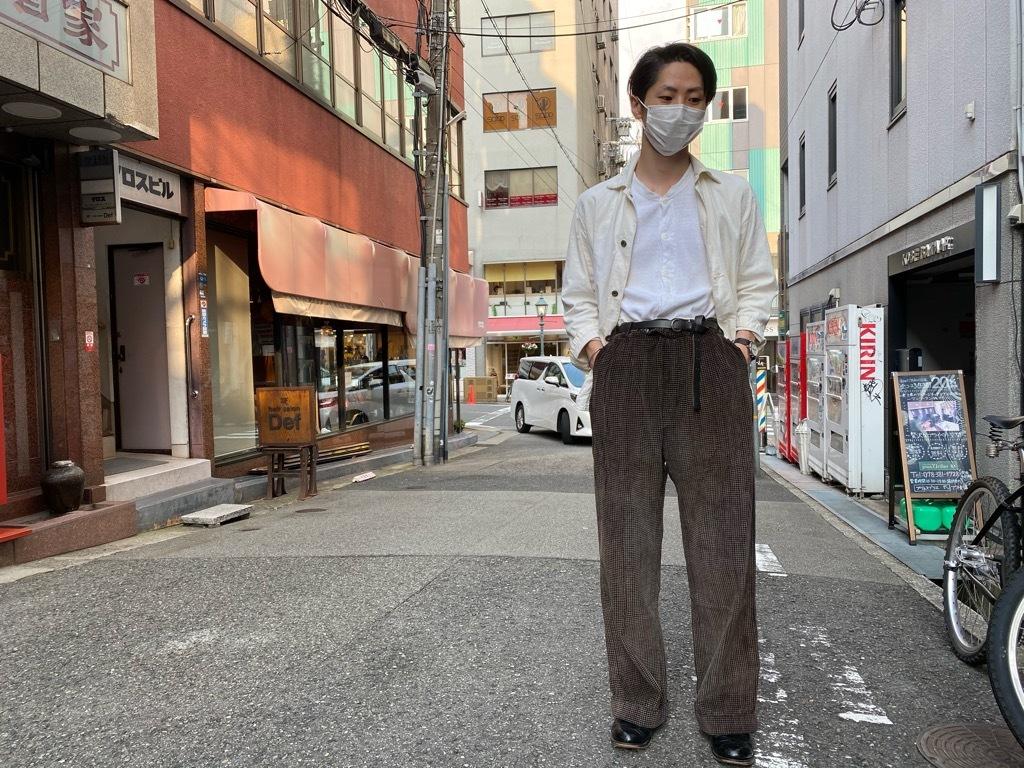 マグネッツ神戸店 8/26(水)秋Vintage入荷! #1 Vintage Corduroy ,Wool Trousers!!!_c0078587_17405107.jpg