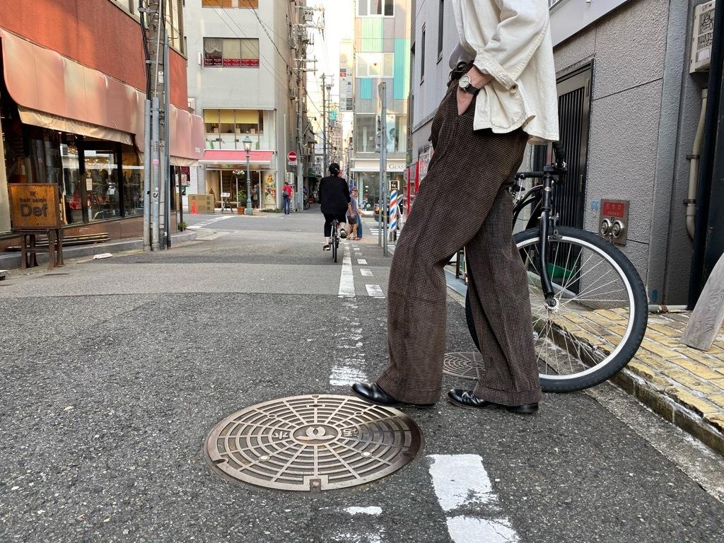 マグネッツ神戸店 8/26(水)秋Vintage入荷! #1 Vintage Corduroy ,Wool Trousers!!!_c0078587_17405160.jpg