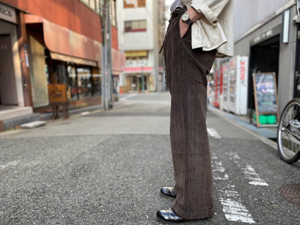 マグネッツ神戸店 8/26(水)秋Vintage入荷! #1 Vintage Corduroy ,Wool Trousers!!!_c0078587_17405190.jpg