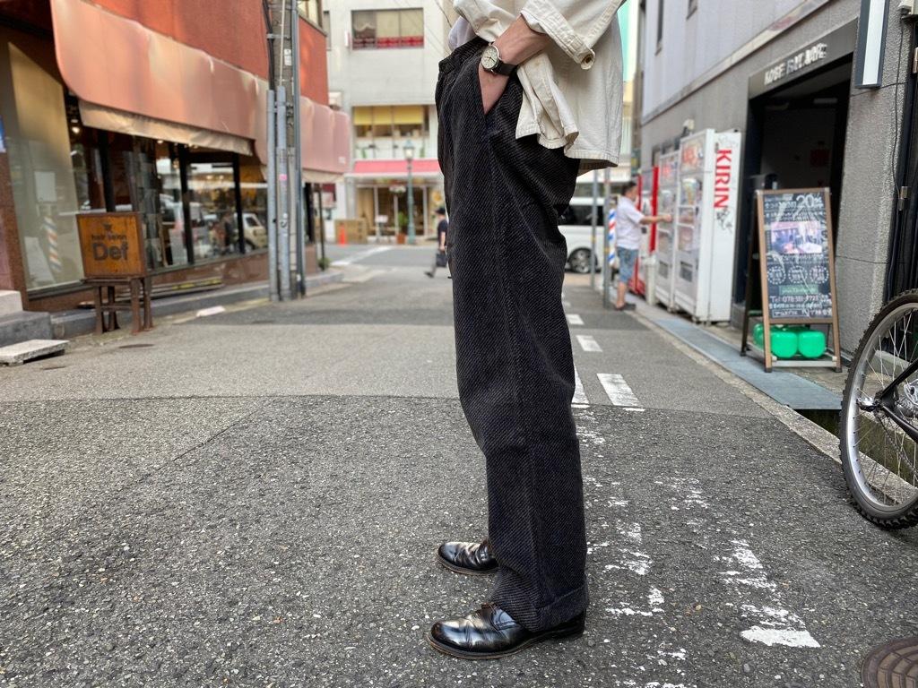 マグネッツ神戸店 8/26(水)秋Vintage入荷! #1 Vintage Corduroy ,Wool Trousers!!!_c0078587_17415500.jpg
