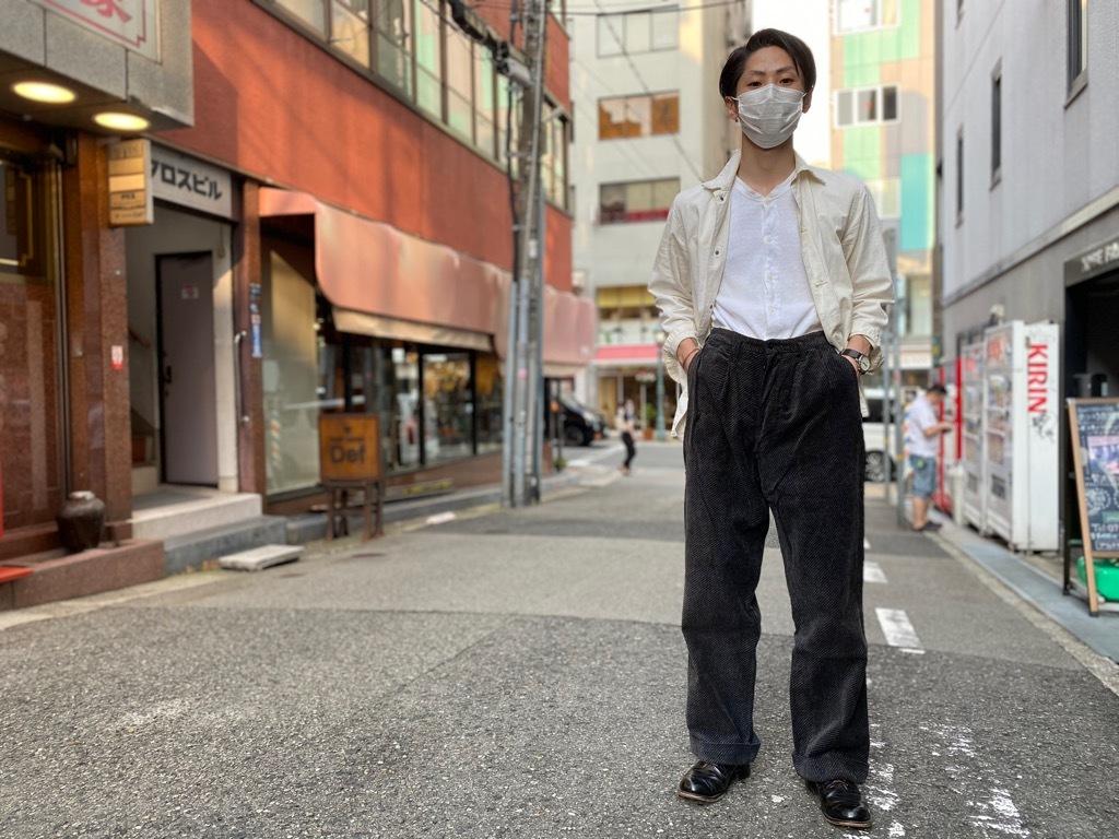 マグネッツ神戸店 8/26(水)秋Vintage入荷! #1 Vintage Corduroy ,Wool Trousers!!!_c0078587_17415522.jpg