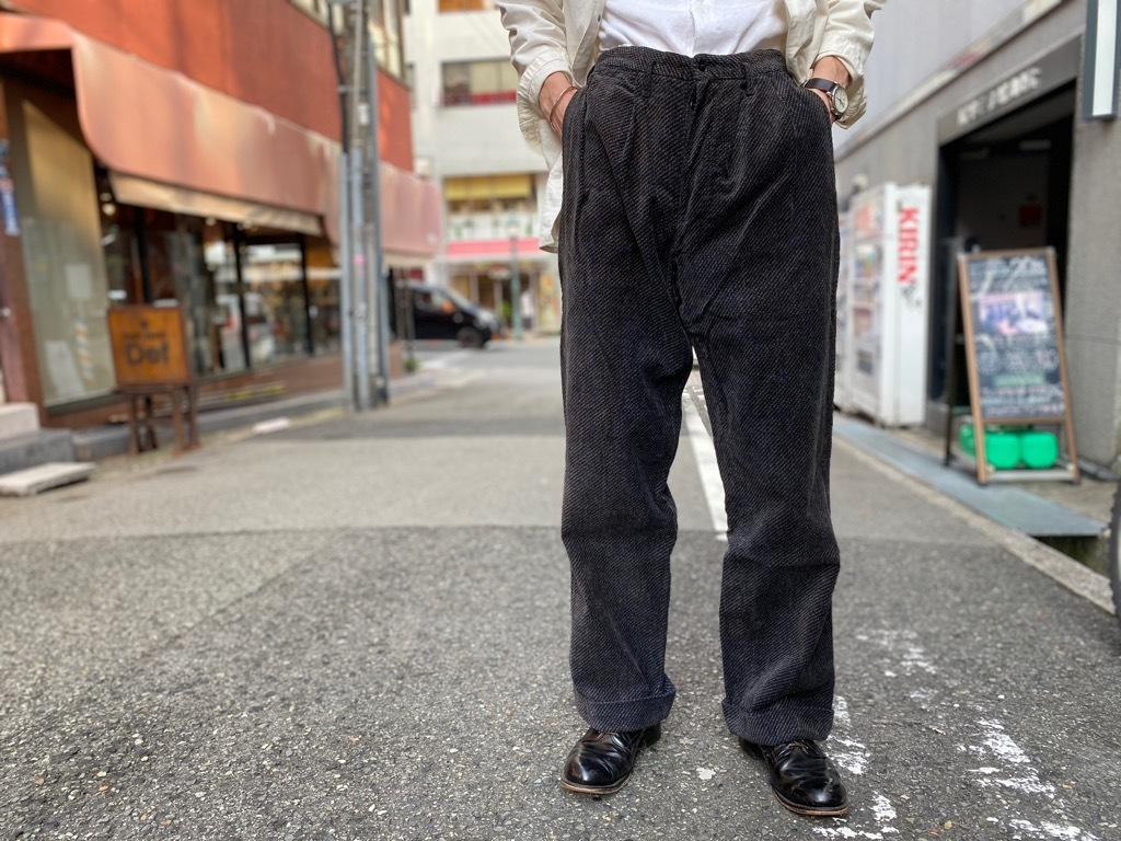 マグネッツ神戸店 8/26(水)秋Vintage入荷! #1 Vintage Corduroy ,Wool Trousers!!!_c0078587_17415529.jpg