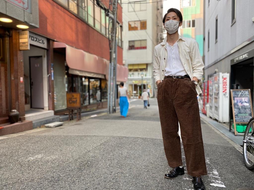 マグネッツ神戸店 8/26(水)秋Vintage入荷! #1 Vintage Corduroy ,Wool Trousers!!!_c0078587_17424041.jpg