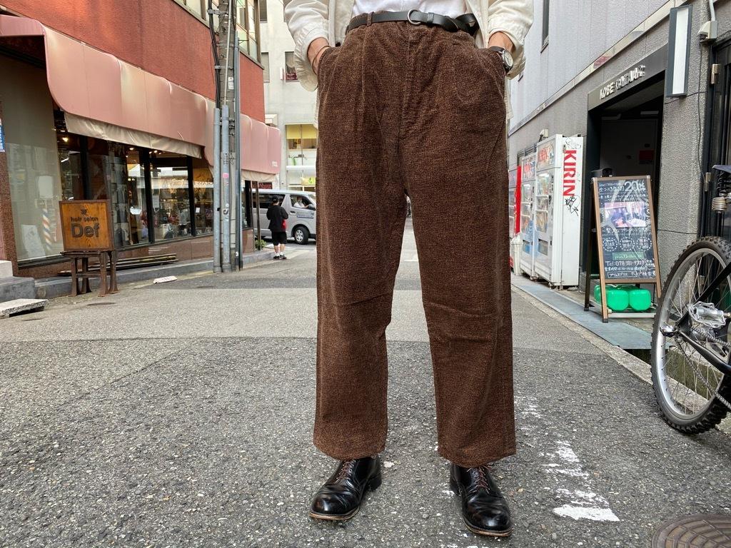 マグネッツ神戸店 8/26(水)秋Vintage入荷! #1 Vintage Corduroy ,Wool Trousers!!!_c0078587_17424044.jpg