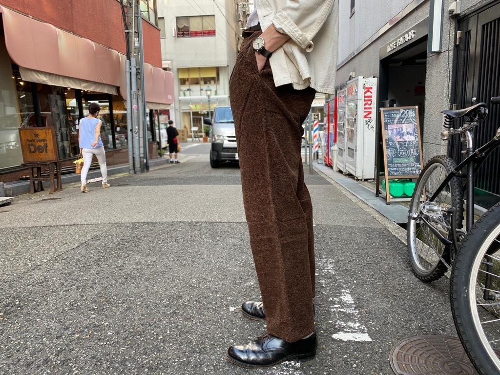 マグネッツ神戸店 8/26(水)秋Vintage入荷! #1 Vintage Corduroy ,Wool Trousers!!!_c0078587_17424086.jpg