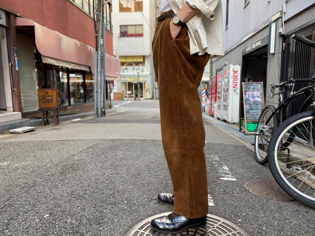 マグネッツ神戸店 8/26(水)秋Vintage入荷! #1 Vintage Corduroy ,Wool Trousers!!!_c0078587_17431826.jpg