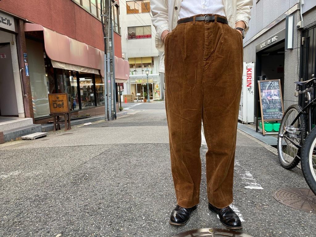 マグネッツ神戸店 8/26(水)秋Vintage入荷! #1 Vintage Corduroy ,Wool Trousers!!!_c0078587_17431831.jpg