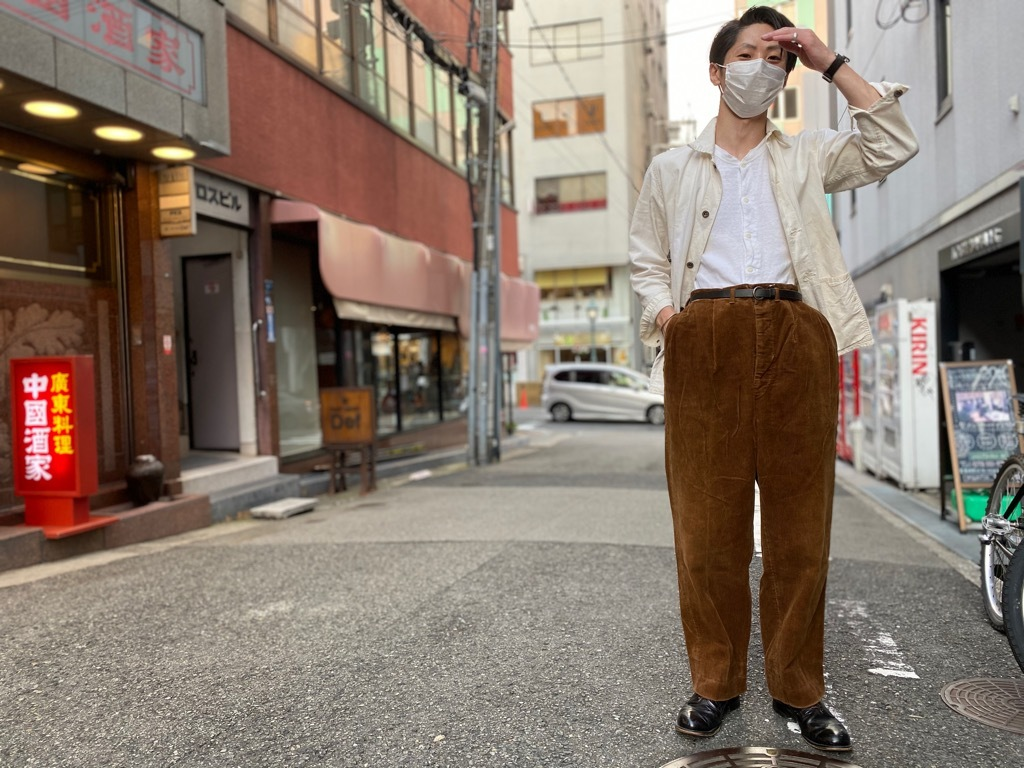 マグネッツ神戸店 8/26(水)秋Vintage入荷! #1 Vintage Corduroy ,Wool Trousers!!!_c0078587_17431860.jpg