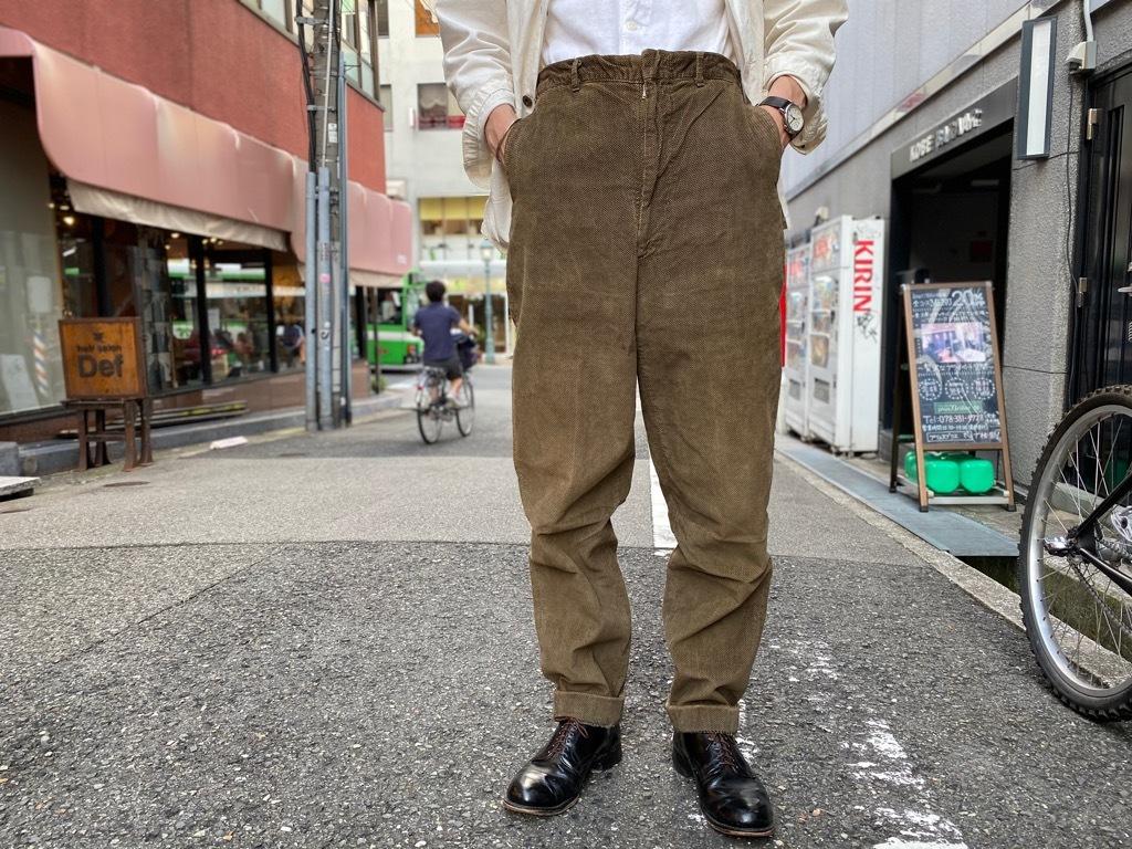 マグネッツ神戸店 8/26(水)秋Vintage入荷! #1 Vintage Corduroy ,Wool Trousers!!!_c0078587_17434217.jpg