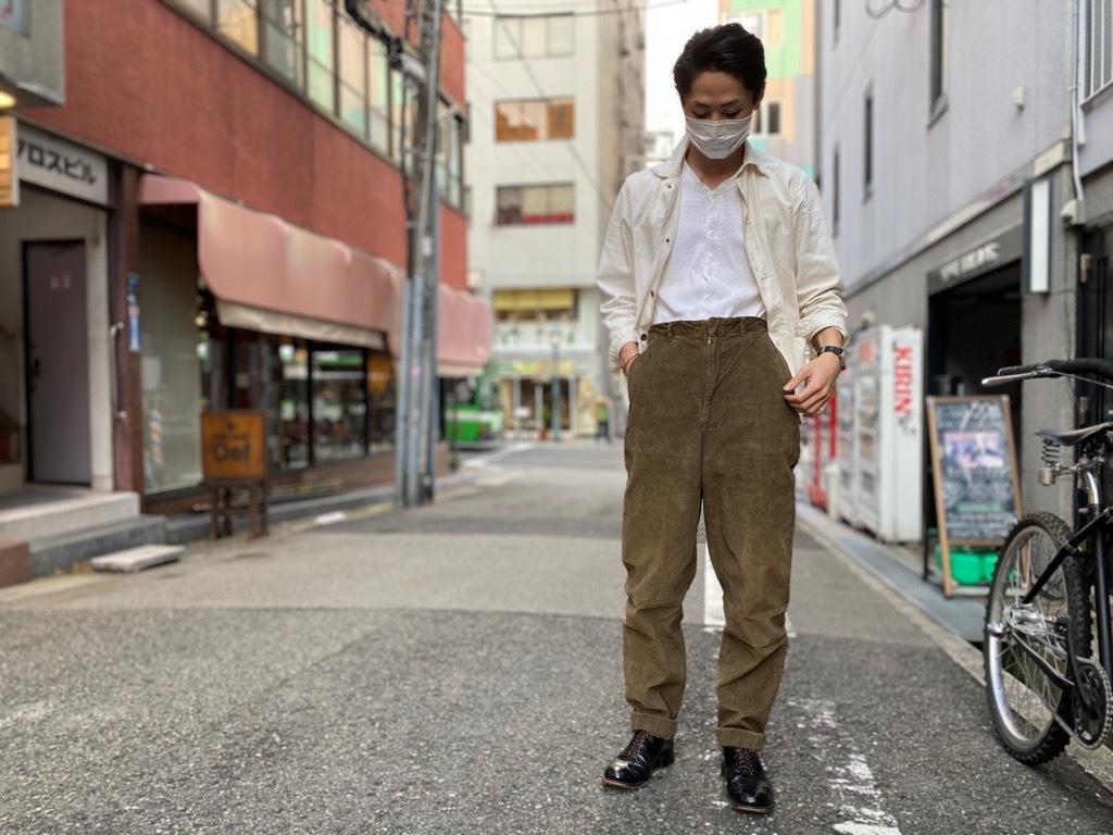 マグネッツ神戸店 8/26(水)秋Vintage入荷! #1 Vintage Corduroy ,Wool Trousers!!!_c0078587_17434252.jpg