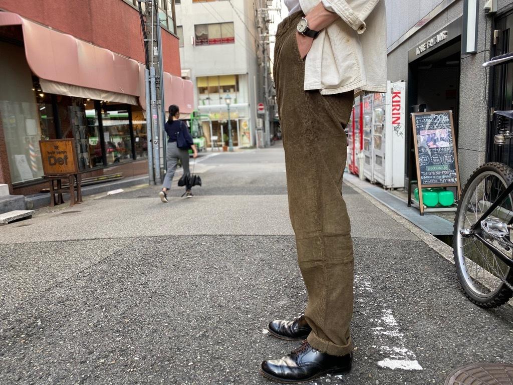 マグネッツ神戸店 8/26(水)秋Vintage入荷! #1 Vintage Corduroy ,Wool Trousers!!!_c0078587_17434296.jpg