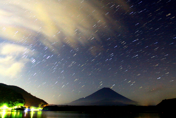 令和2年8月の富士(1) 精進湖の富士 _e0344396_20315438.jpg