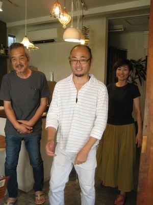 松山<うつわ屋 独歩>での個展風景 (続きです)_d0138203_10470035.jpg