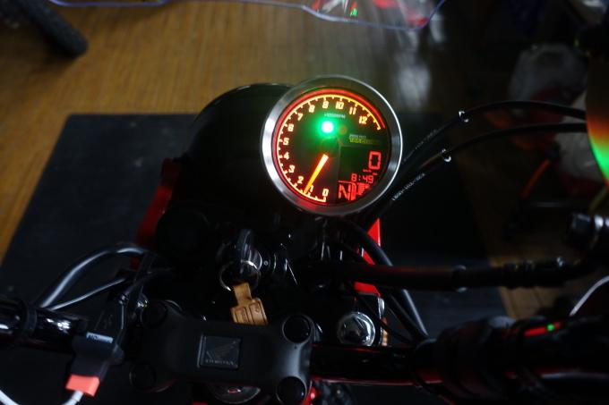 CT125用 スーパーマルチDNメーターを付けてみた_f0061705_19434997.jpg