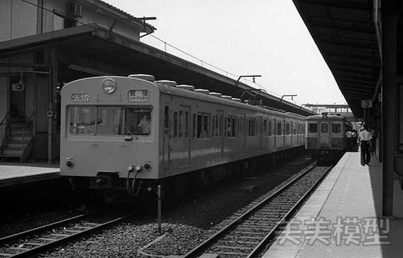 半世紀前のネガシートから 国鉄 千葉駅 ①_d0110009_14380232.jpg