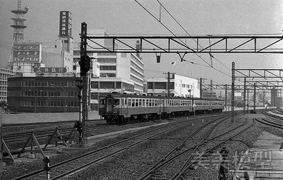 半世紀前のネガシートから 国鉄 千葉駅 ①_d0110009_14435475.jpg