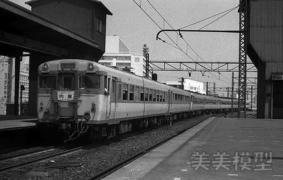 半世紀前のネガシートから 国鉄 千葉駅 ①_d0110009_14543626.jpg