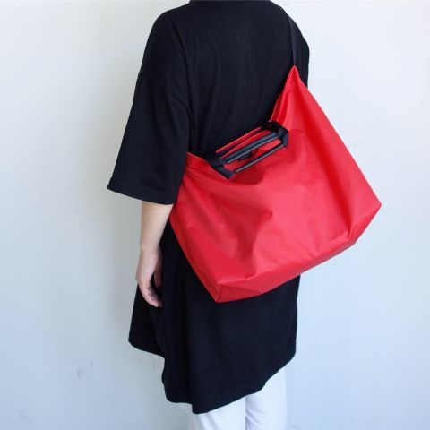 STANDARD SUPPLY : PACKABLE ONE STRAP TOTE_a0234452_16131668.jpg