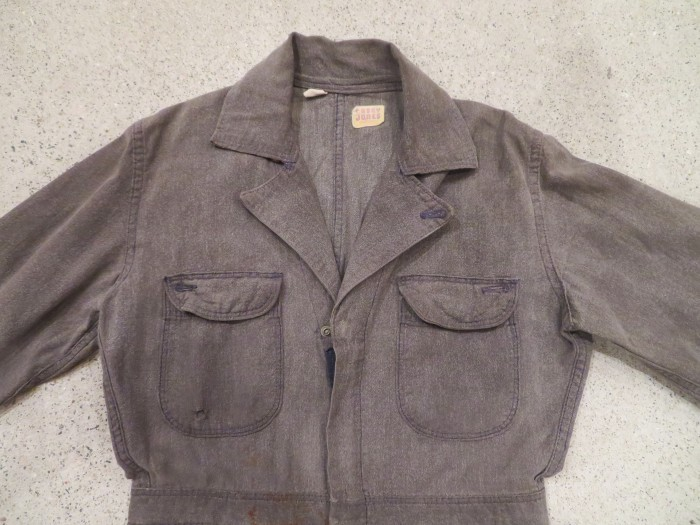 40\'s 50\'s Black Chambray ALL IN ONE_e0187362_12251109.jpg