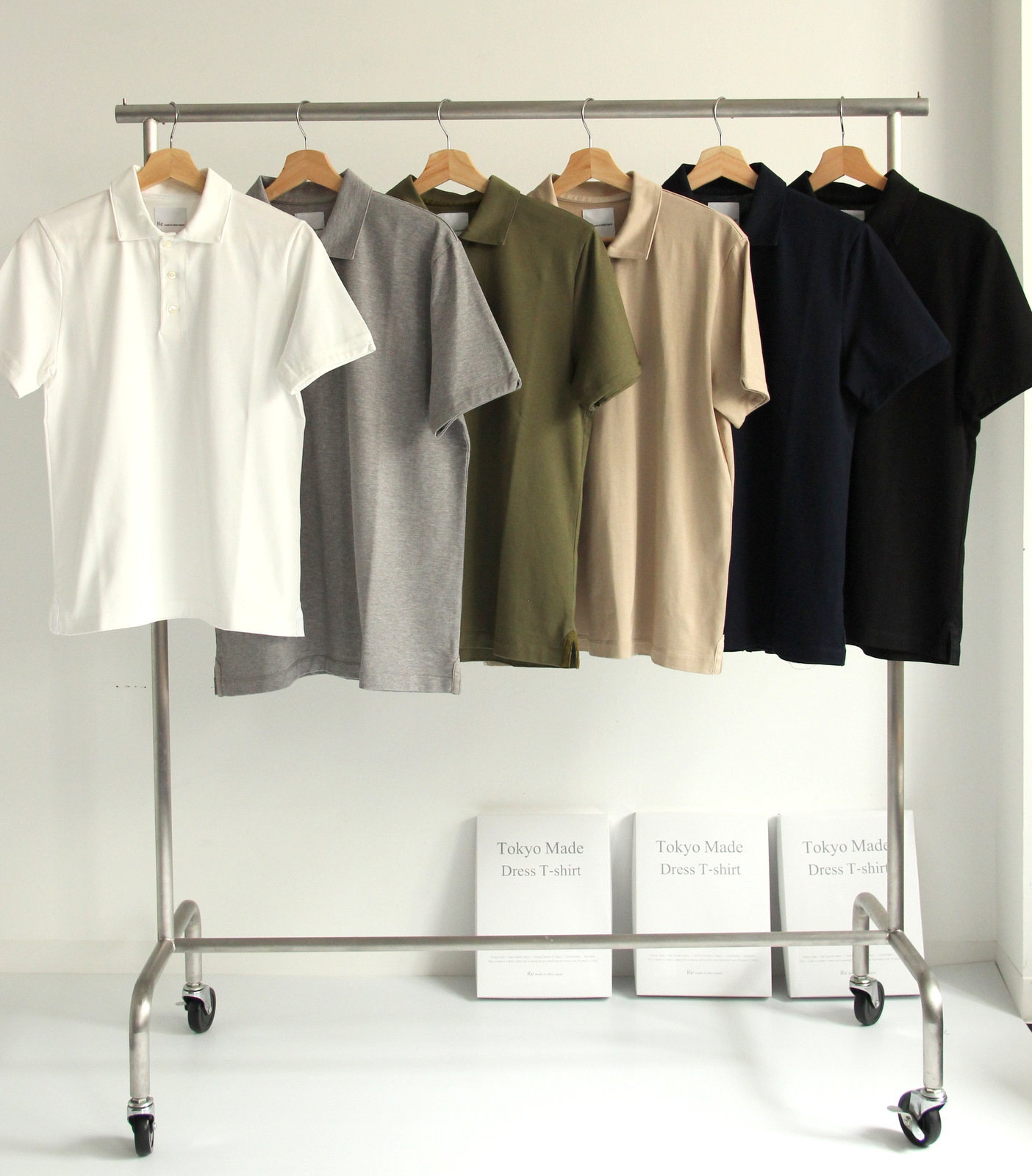 Suvin Gold Cotton Knit Shirt【NEW COLOR】_c0379477_20260697.jpg