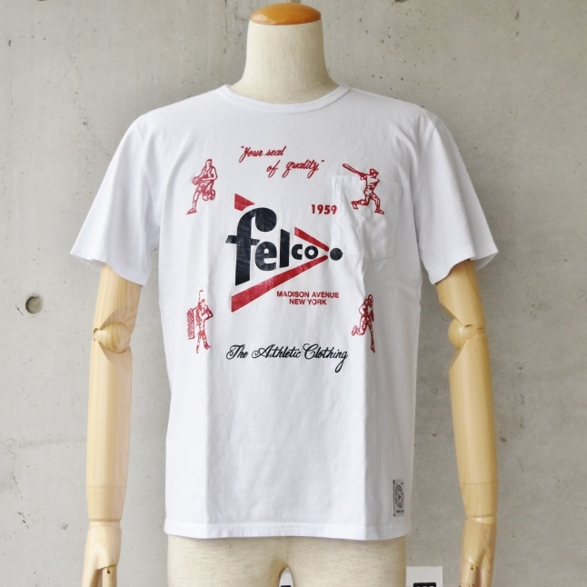 Felco TEE (MADE IN USA)  CLEARLACE SALE!!_d0152280_12234820.jpg
