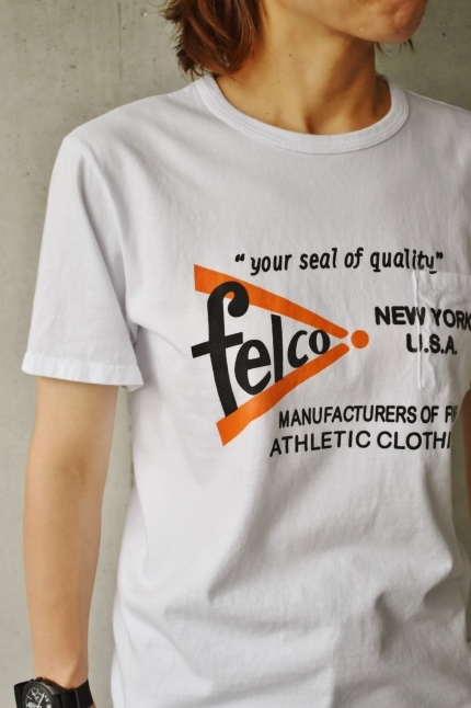 Felco TEE (MADE IN USA)  CLEARLACE SALE!!_d0152280_15463965.jpg