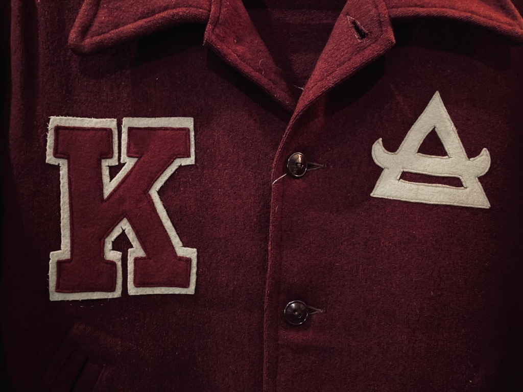マグネッツ神戸店 8/26(水)秋Vintage入荷! #3 Vintage Varsity Jacket Part2!!!_c0078587_14371881.jpg