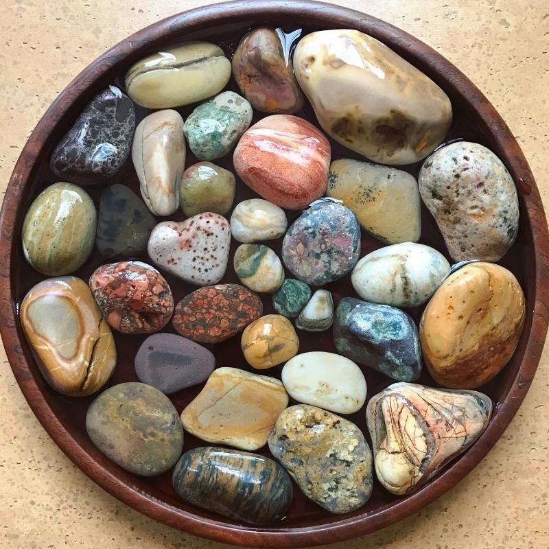 【海で拾った石】 真夏の石拾い その1_f0169147_11442296.jpg