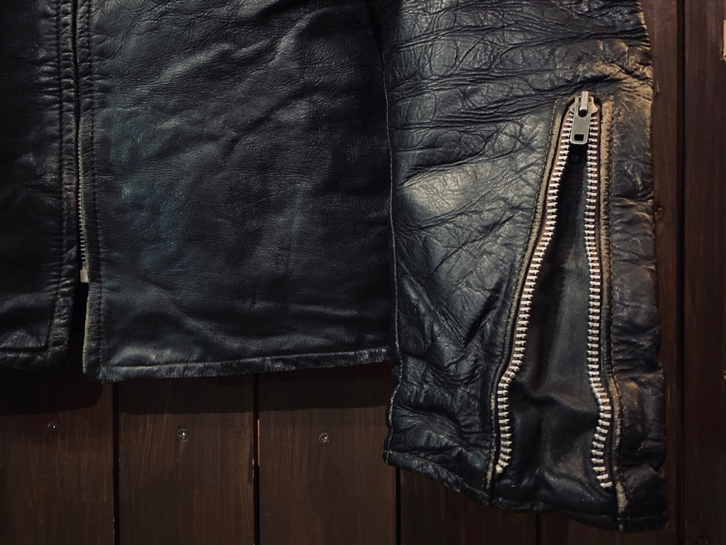 マグネッツ神戸店 8/26(水)秋Vintage入荷! #7 Vintage Leather Jacket!!!_c0078587_14441496.jpg