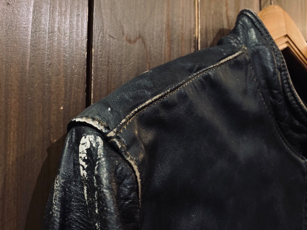 マグネッツ神戸店 8/26(水)秋Vintage入荷! #7 Vintage Leather Jacket!!!_c0078587_14551951.jpg