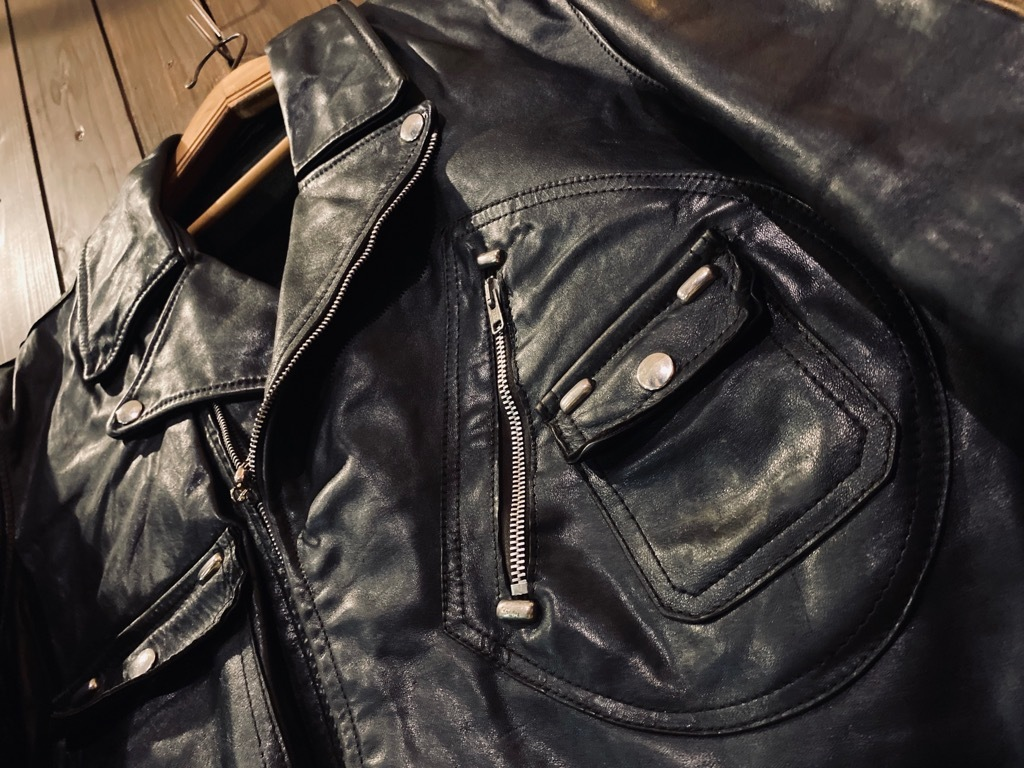 マグネッツ神戸店 8/26(水)秋Vintage入荷! #7 Vintage Leather Jacket!!!_c0078587_15001519.jpg
