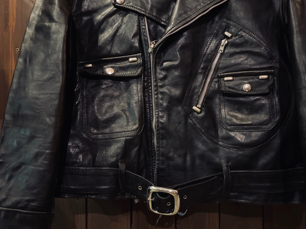 マグネッツ神戸店 8/26(水)秋Vintage入荷! #7 Vintage Leather Jacket!!!_c0078587_15001560.jpg