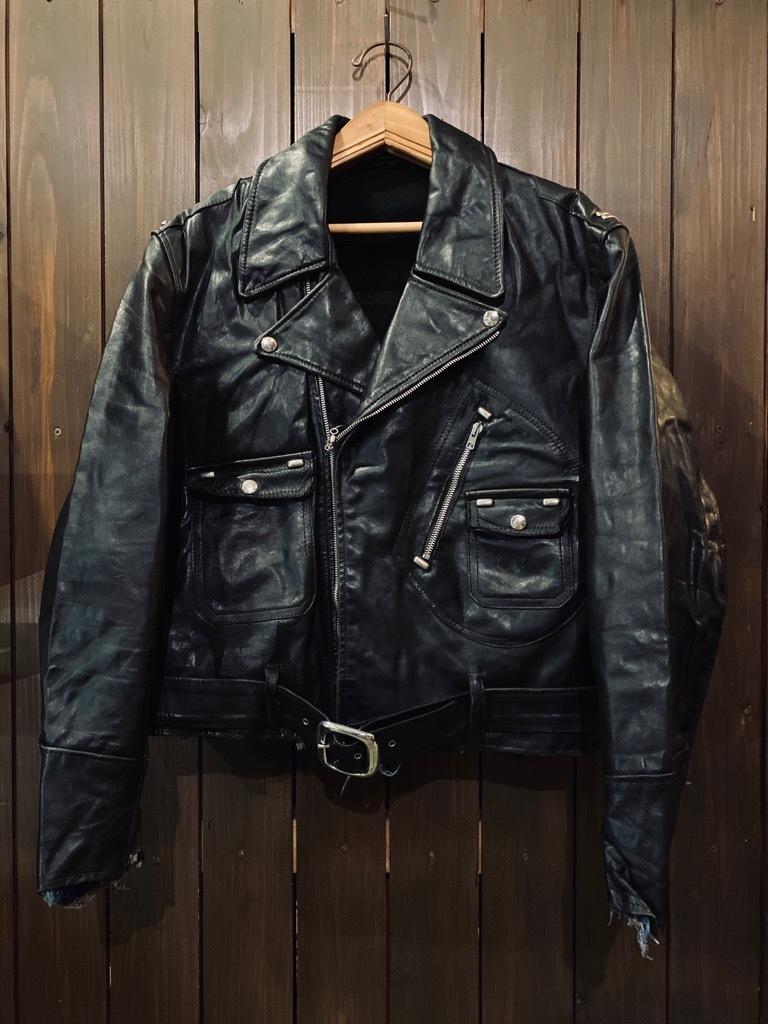 マグネッツ神戸店 8/26(水)秋Vintage入荷! #7 Vintage Leather Jacket!!!_c0078587_15001629.jpg