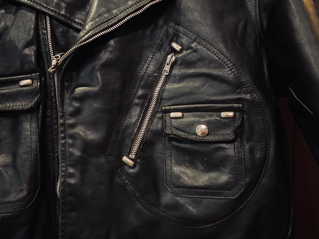 マグネッツ神戸店 8/26(水)秋Vintage入荷! #7 Vintage Leather Jacket!!!_c0078587_15001679.jpg