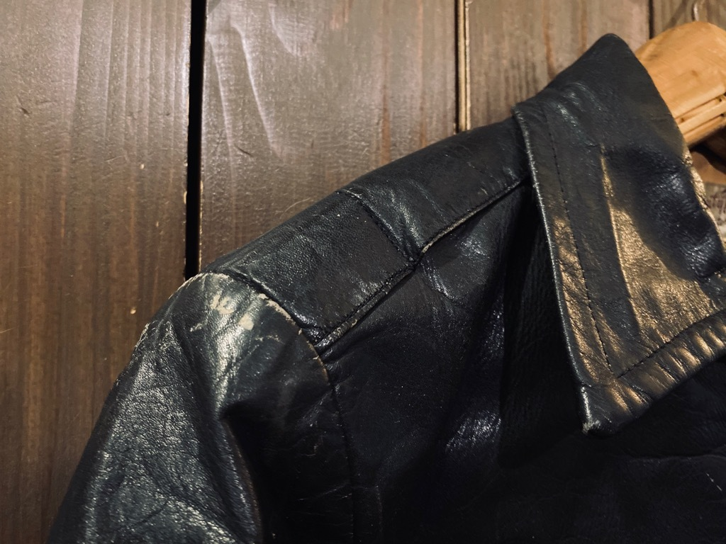 マグネッツ神戸店 8/26(水)秋Vintage入荷! #7 Vintage Leather Jacket!!!_c0078587_15045402.jpg