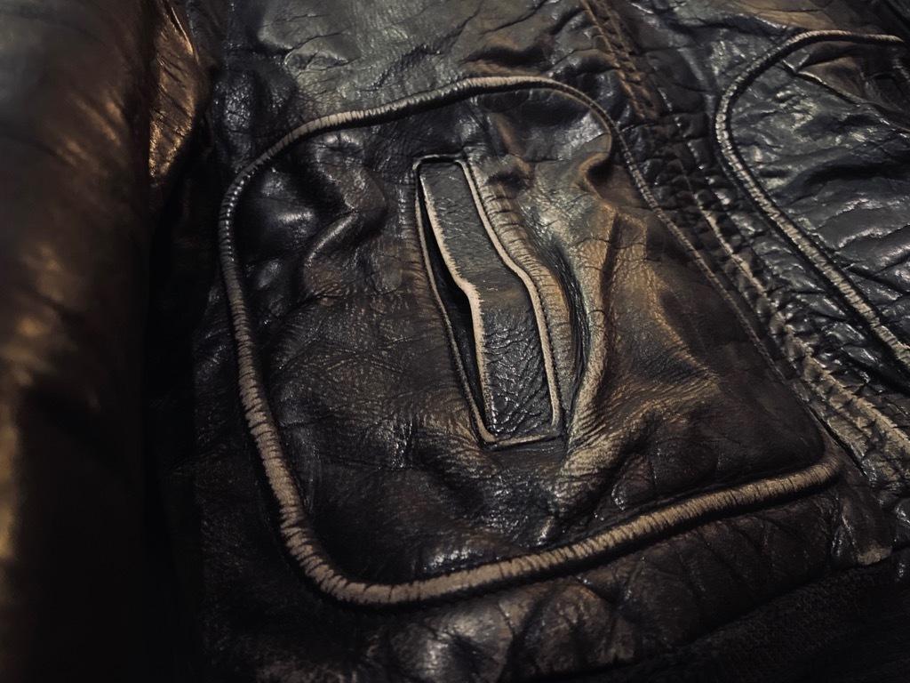 マグネッツ神戸店 8/26(水)秋Vintage入荷! #7 Vintage Leather Jacket!!!_c0078587_15045460.jpg