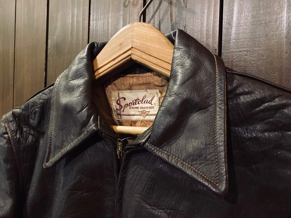 マグネッツ神戸店 8/26(水)秋Vintage入荷! #7 Vintage Leather Jacket!!!_c0078587_15061166.jpg