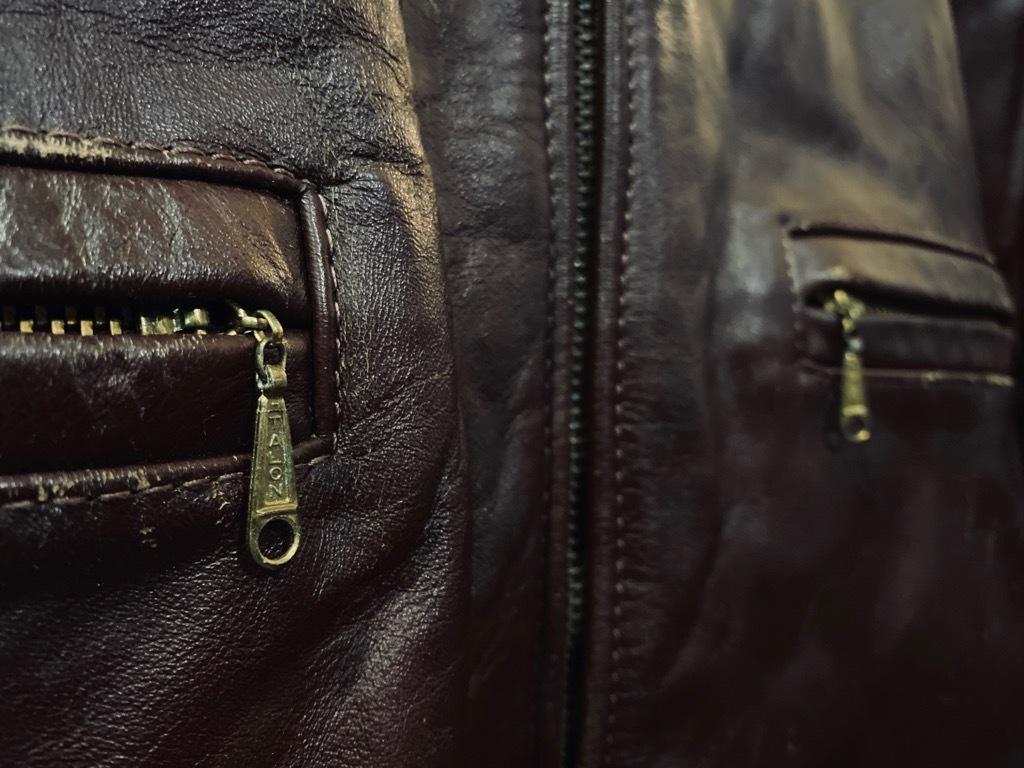 マグネッツ神戸店 8/26(水)秋Vintage入荷! #7 Vintage Leather Jacket!!!_c0078587_15080543.jpg