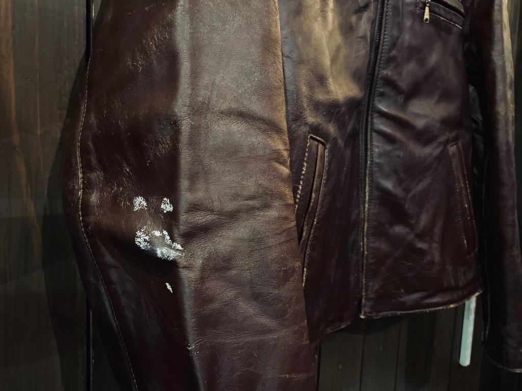 マグネッツ神戸店 8/26(水)秋Vintage入荷! #7 Vintage Leather Jacket!!!_c0078587_15080610.jpg