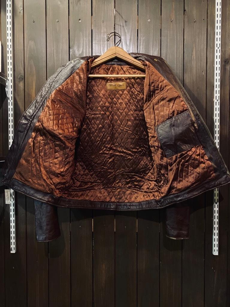 マグネッツ神戸店 8/26(水)秋Vintage入荷! #7 Vintage Leather Jacket!!!_c0078587_15095755.jpg