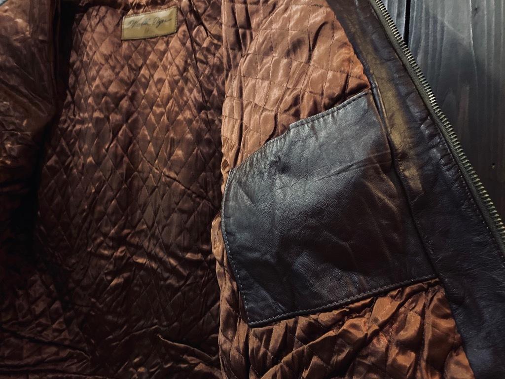 マグネッツ神戸店 8/26(水)秋Vintage入荷! #7 Vintage Leather Jacket!!!_c0078587_15095790.jpg