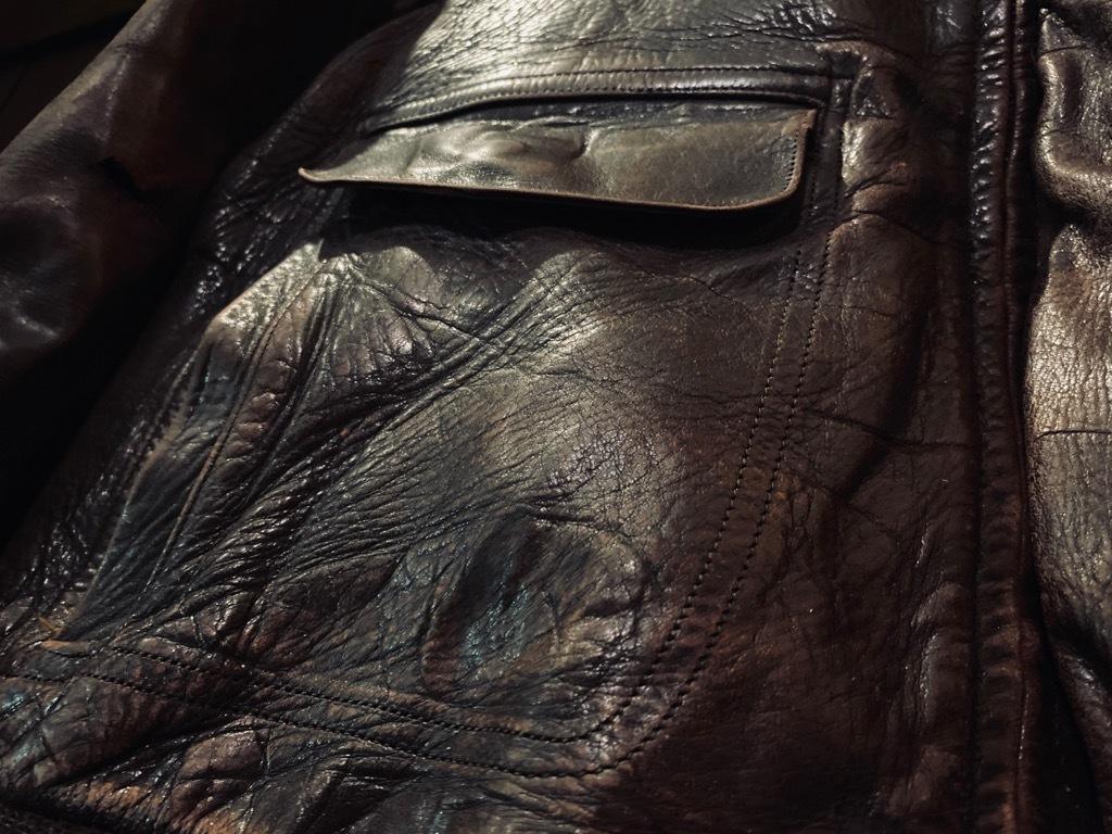 マグネッツ神戸店 8/26(水)秋Vintage入荷! #7 Vintage Leather Jacket!!!_c0078587_15133711.jpg