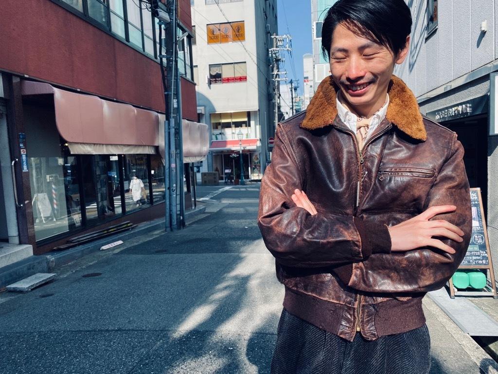 マグネッツ神戸店 8/26(水)秋Vintage入荷! #7 Vintage Leather Jacket!!!_c0078587_15475350.jpg