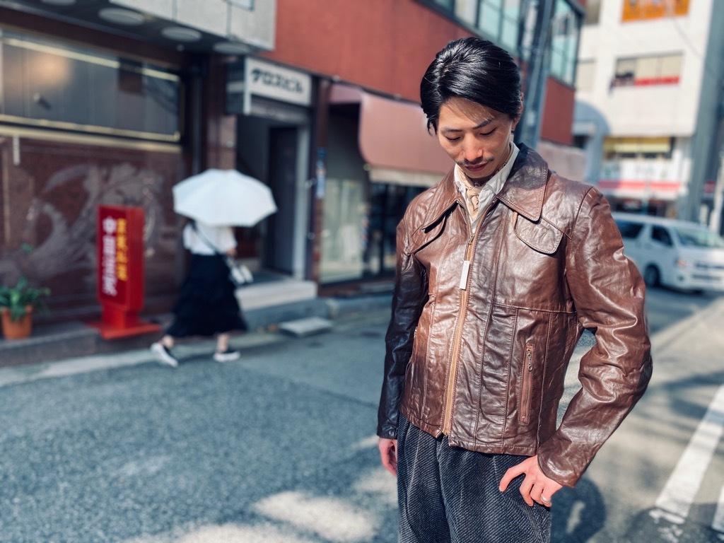 マグネッツ神戸店 8/26(水)秋Vintage入荷! #7 Vintage Leather Jacket!!!_c0078587_15481742.jpg