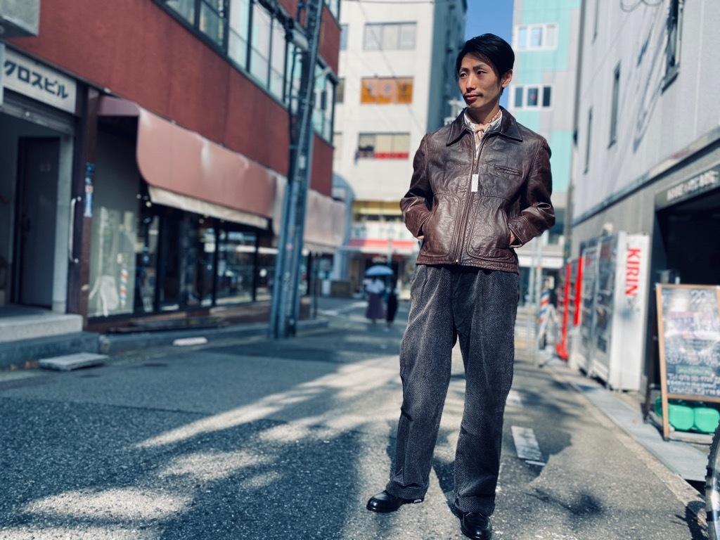 マグネッツ神戸店 8/26(水)秋Vintage入荷! #7 Vintage Leather Jacket!!!_c0078587_15483700.jpg