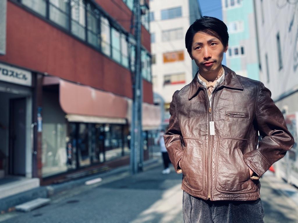 マグネッツ神戸店 8/26(水)秋Vintage入荷! #7 Vintage Leather Jacket!!!_c0078587_15483713.jpg